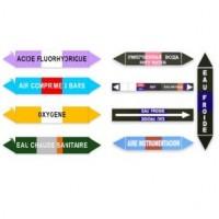 Étiquettes de repérage en PVC