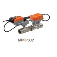 Vannes 2V indépendantes de la pression electro. PN16, taraudées