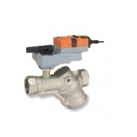 Vannes 2V indépendantes de la pression PN16, taraudées